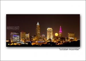 cleveland skyline october moonrise.jpg