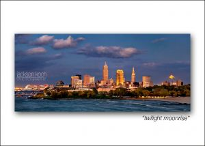 cleveland skyline twilight moonrise.jpg