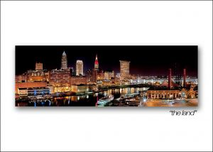 cleveland skyline the land